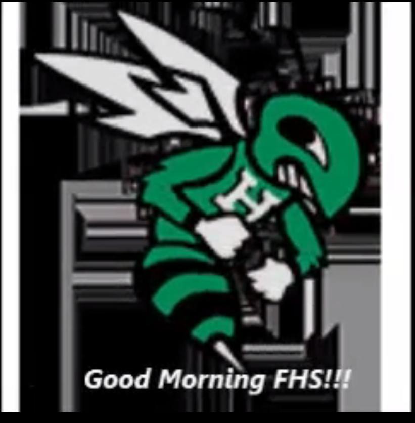 February 3rd Episode of Good Morning FHS!